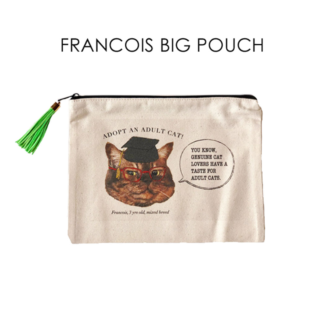FRANCOIS BIG POUCH画像