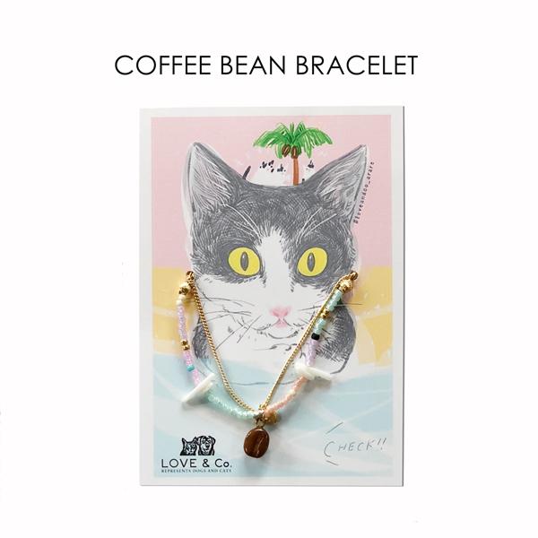 リアルコーヒー豆 ブレスレット画像