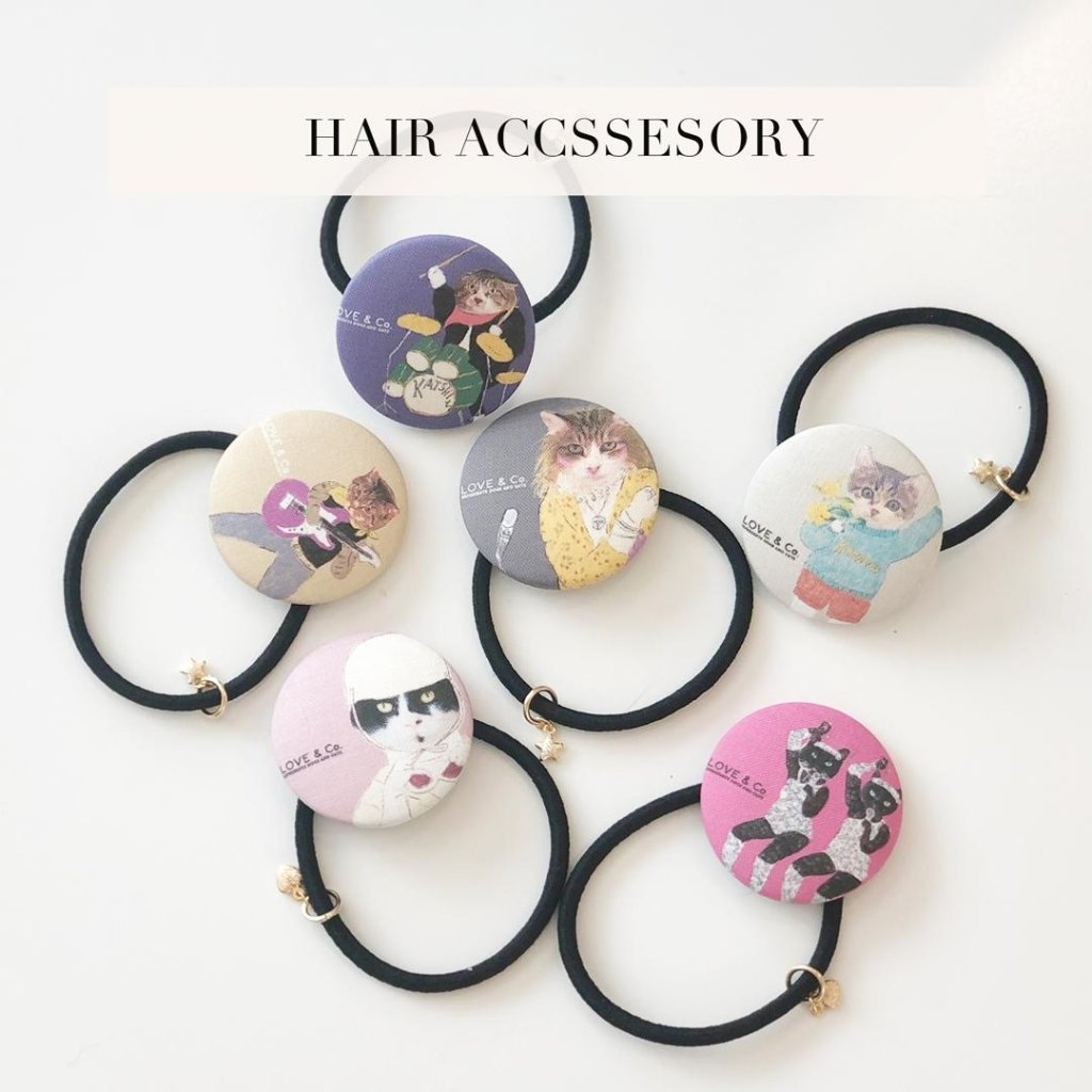 HAIR ACCESSORIESの画像