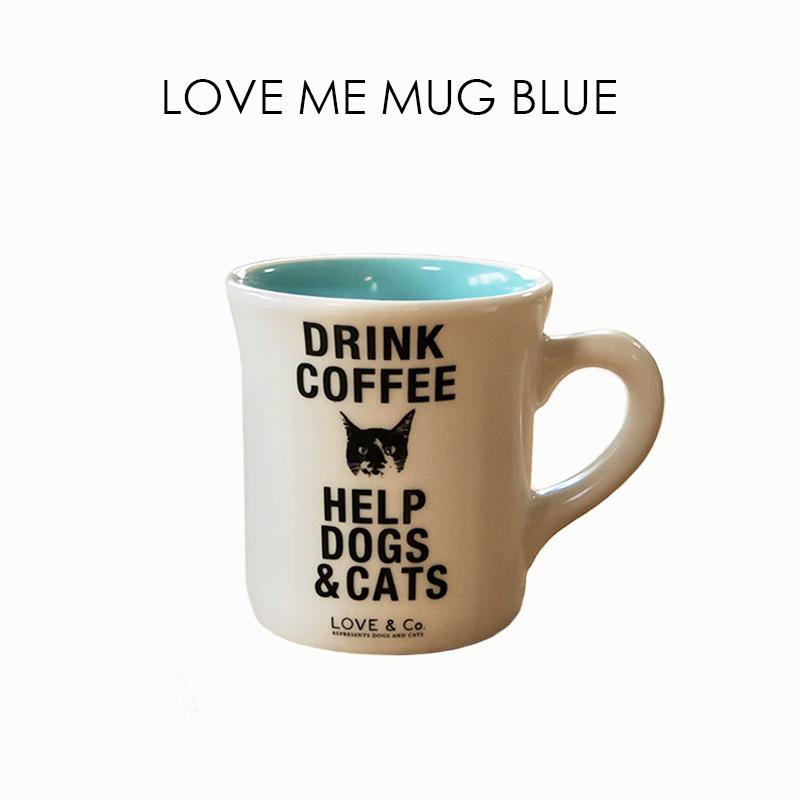 LOVE ME MUG ~BLUE~の画像