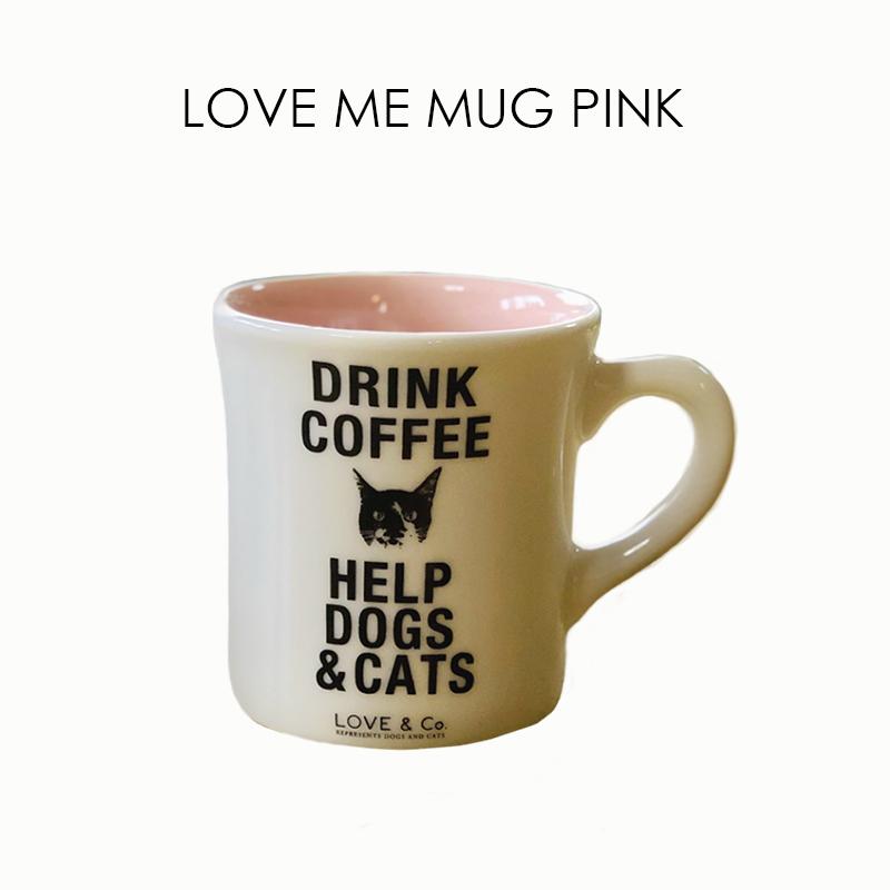 LOVE ME MUG ~PINK~の画像