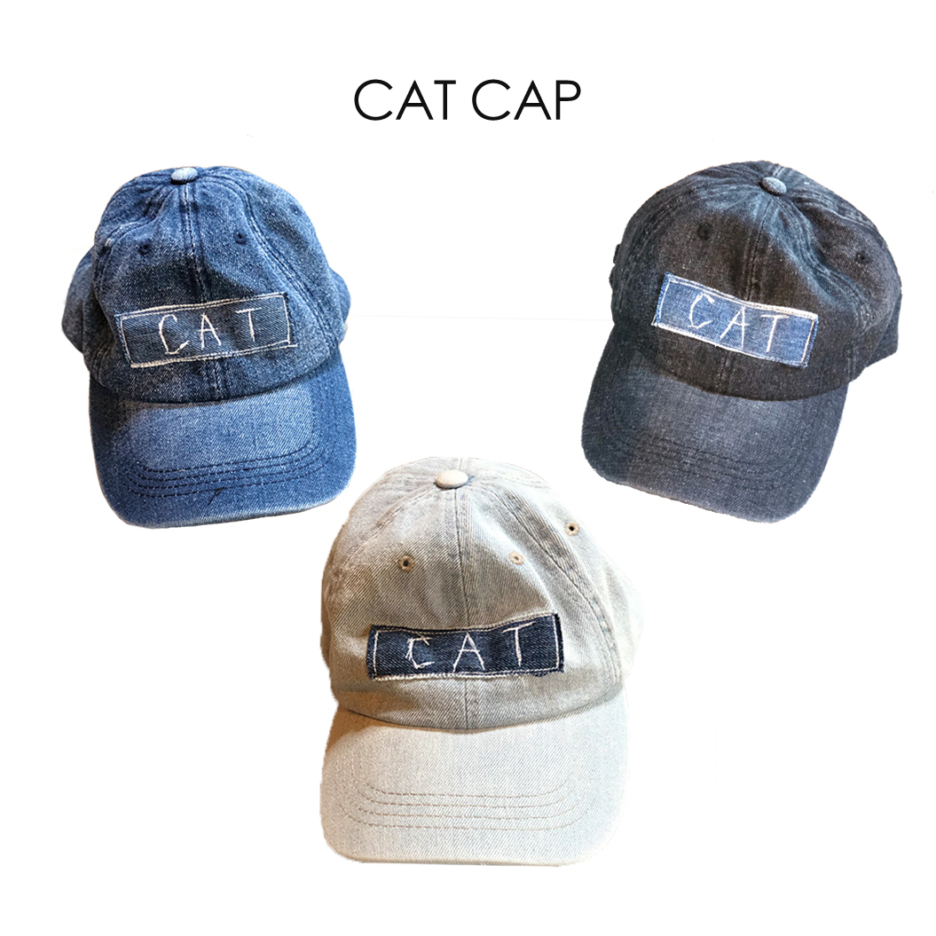 CAT DENIM CAP画像