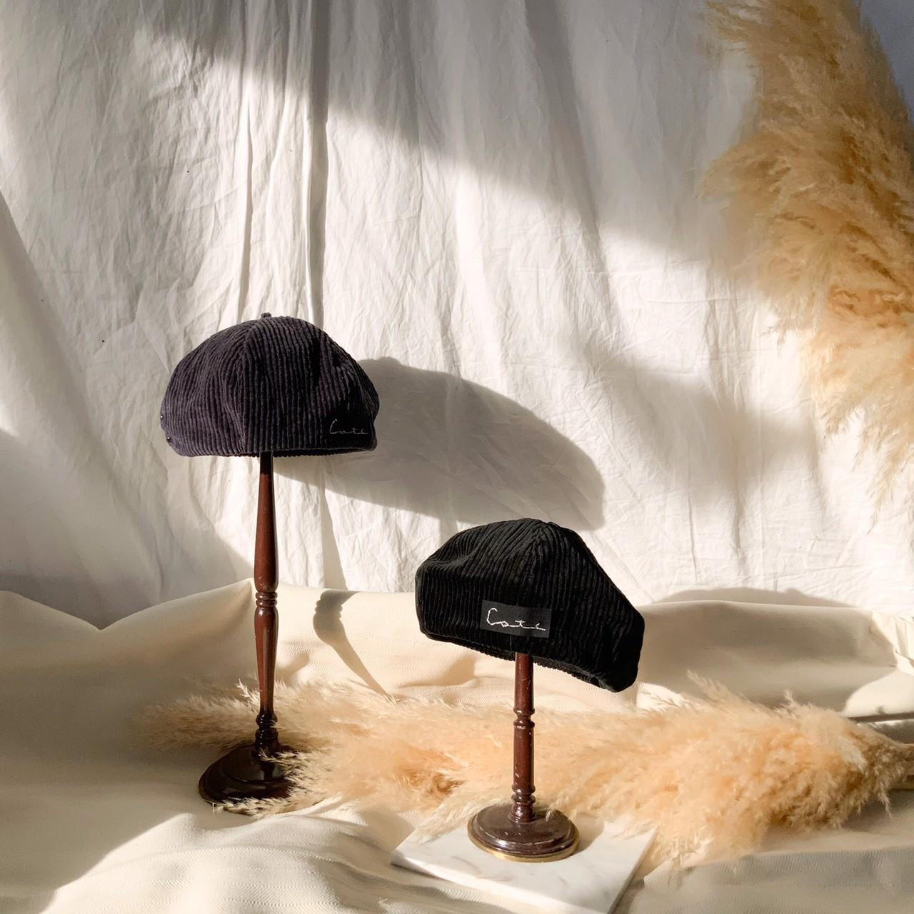 コーデュロイ ベレー帽 by collagedrobe画像
