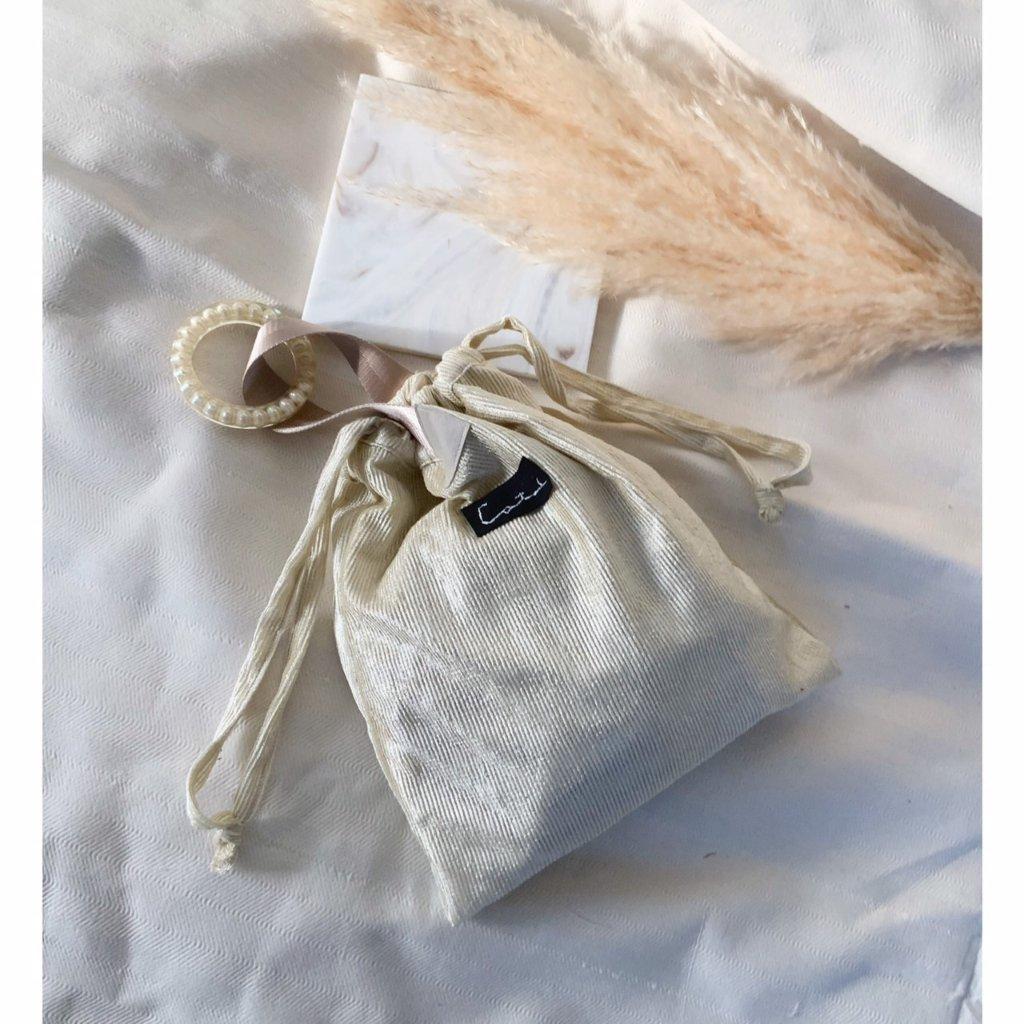パールバングル巾着バッグ by collagedrobeの画像