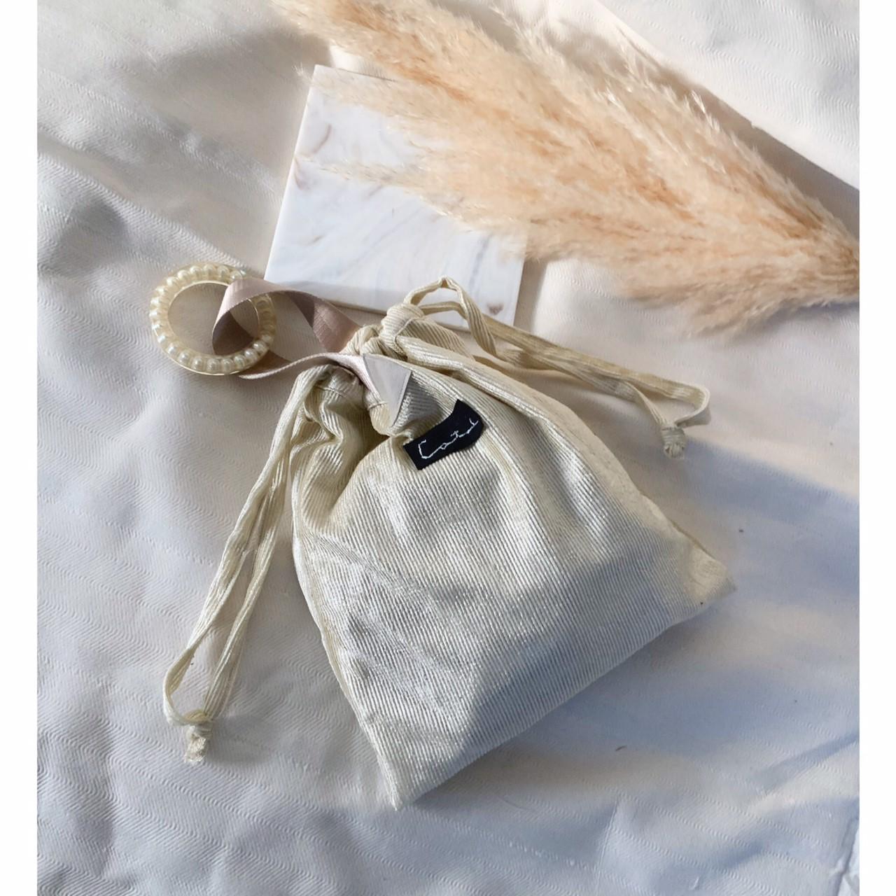 パールバングル巾着バッグ by collagedrobe画像