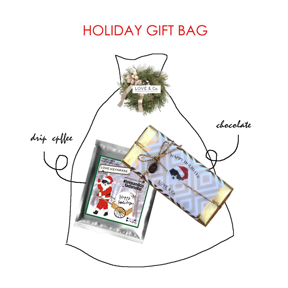 HOLIDAY GIFT BAG (12/10~随時発送)の画像