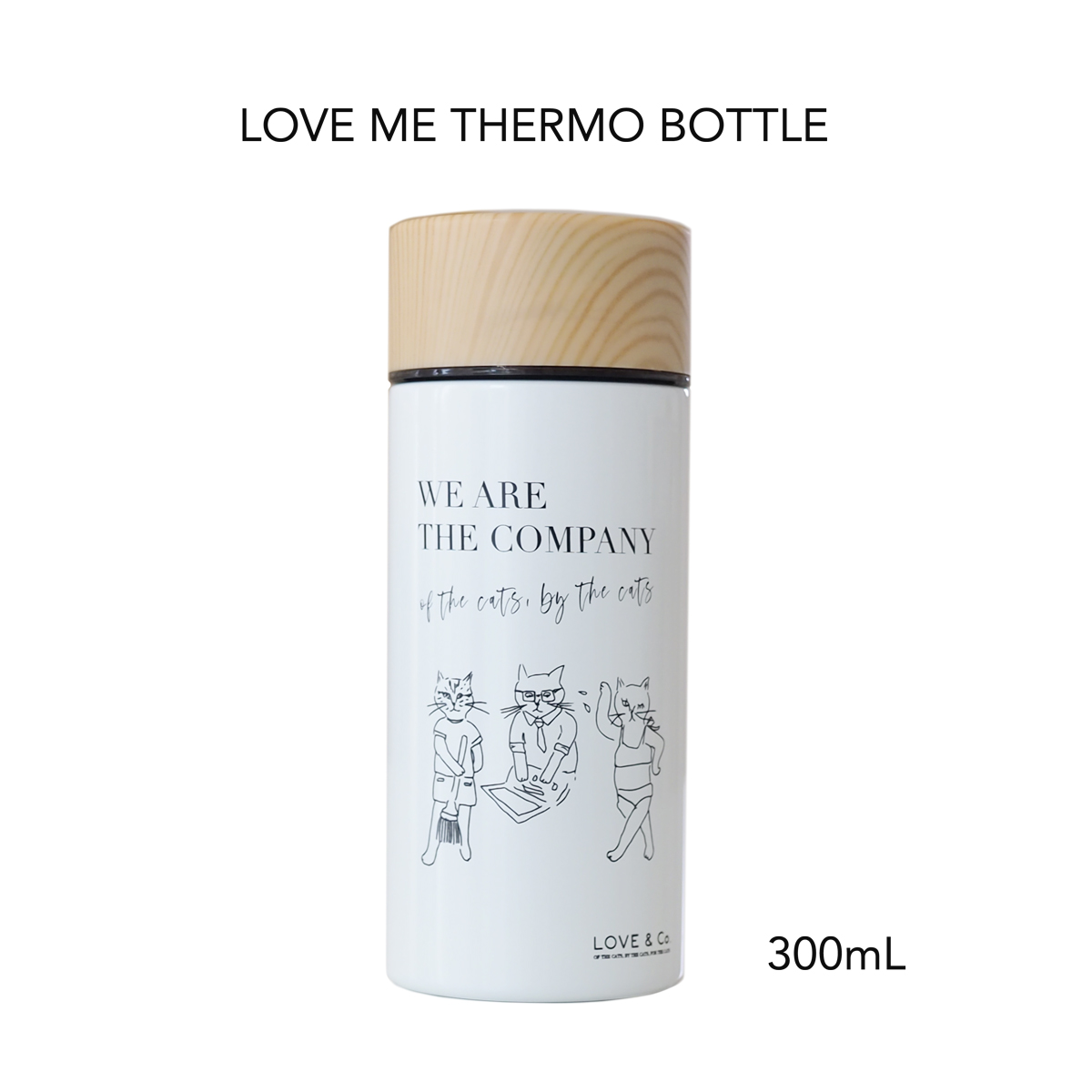 LOVE ME THERMO BOTTLE画像