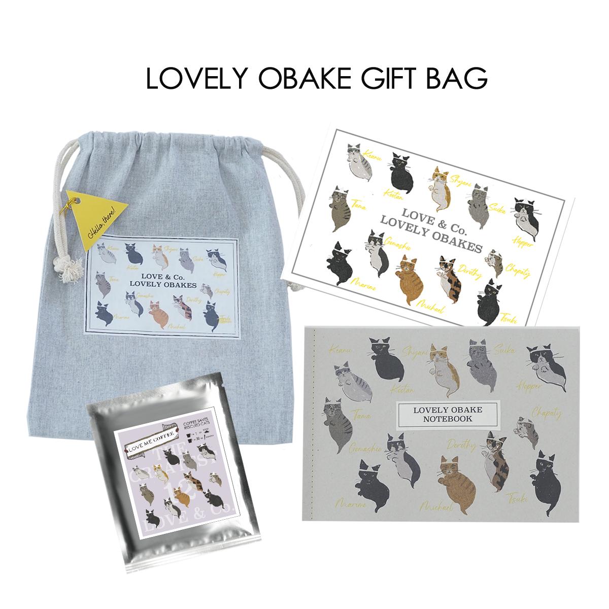 LOVELY OBAKE GIFT BAG画像