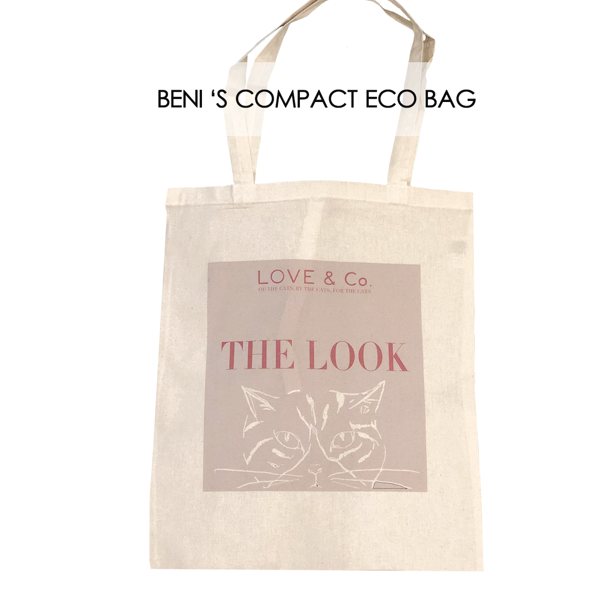 "BENIの""THE LOOK""エコBAG画像"
