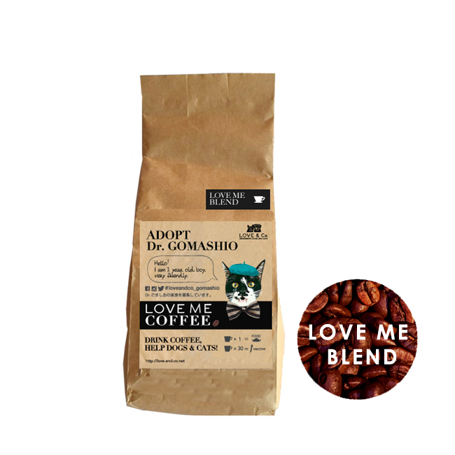 コーヒー豆 ラブミーブレンド の画像