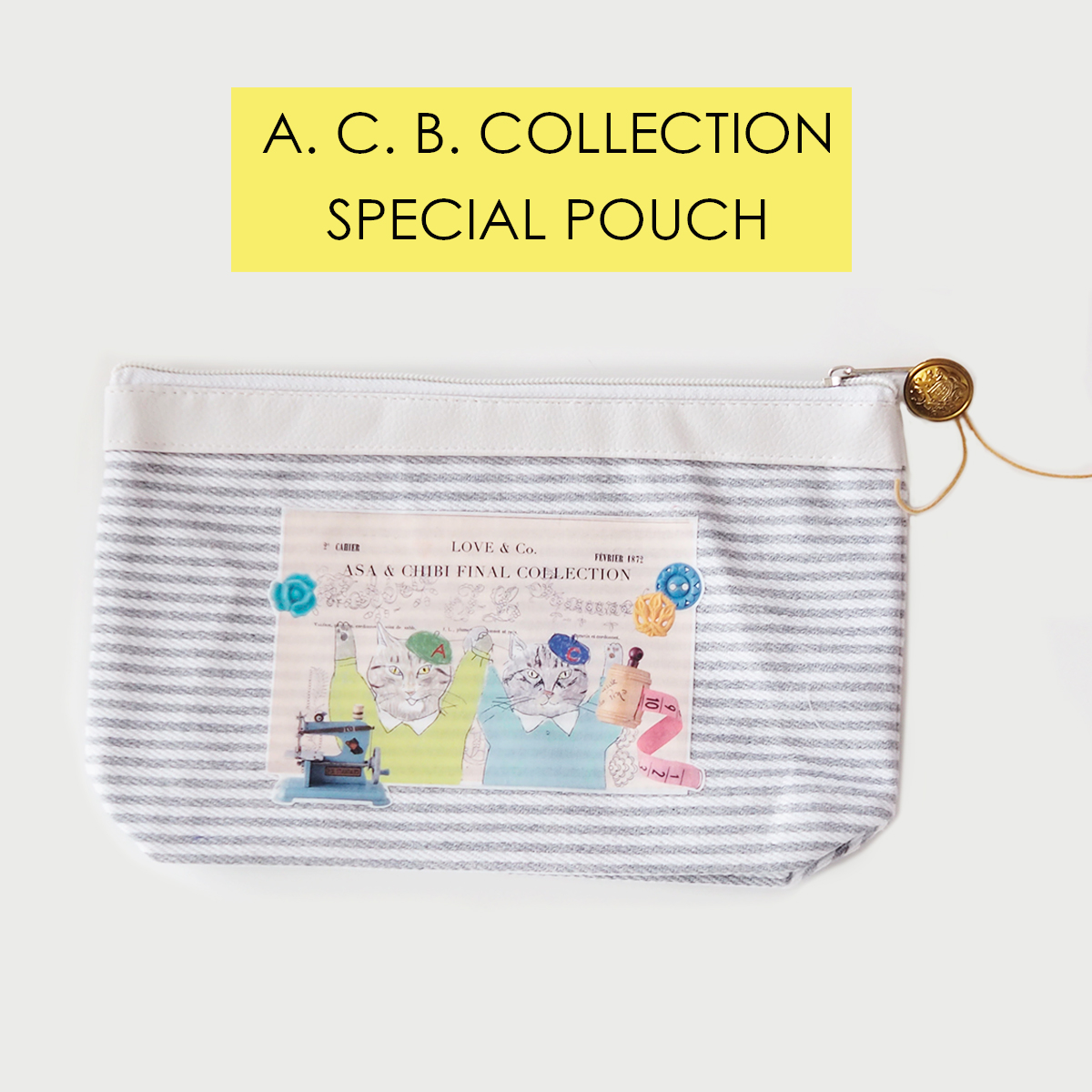 【A.C. B. コレクション】SPECIAL POUCH 〜AUTUMN & WINTER〜画像