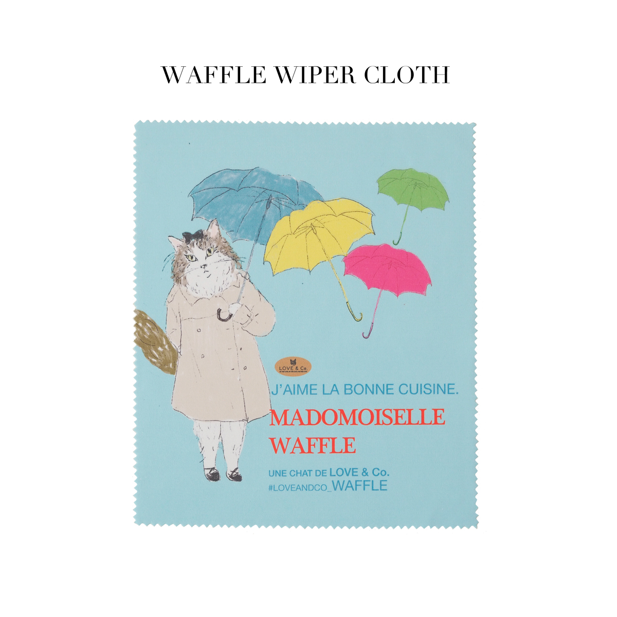 WAFFLE WIPER (マイクロファイバークロス)画像