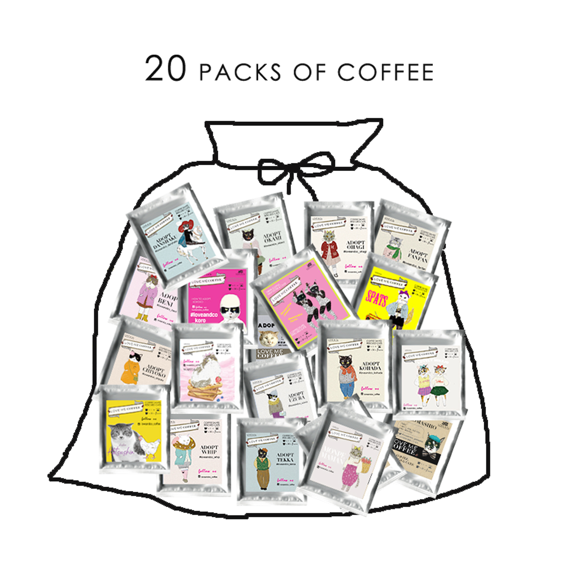 PROMOTION LOVE ME BAG 20袋画像