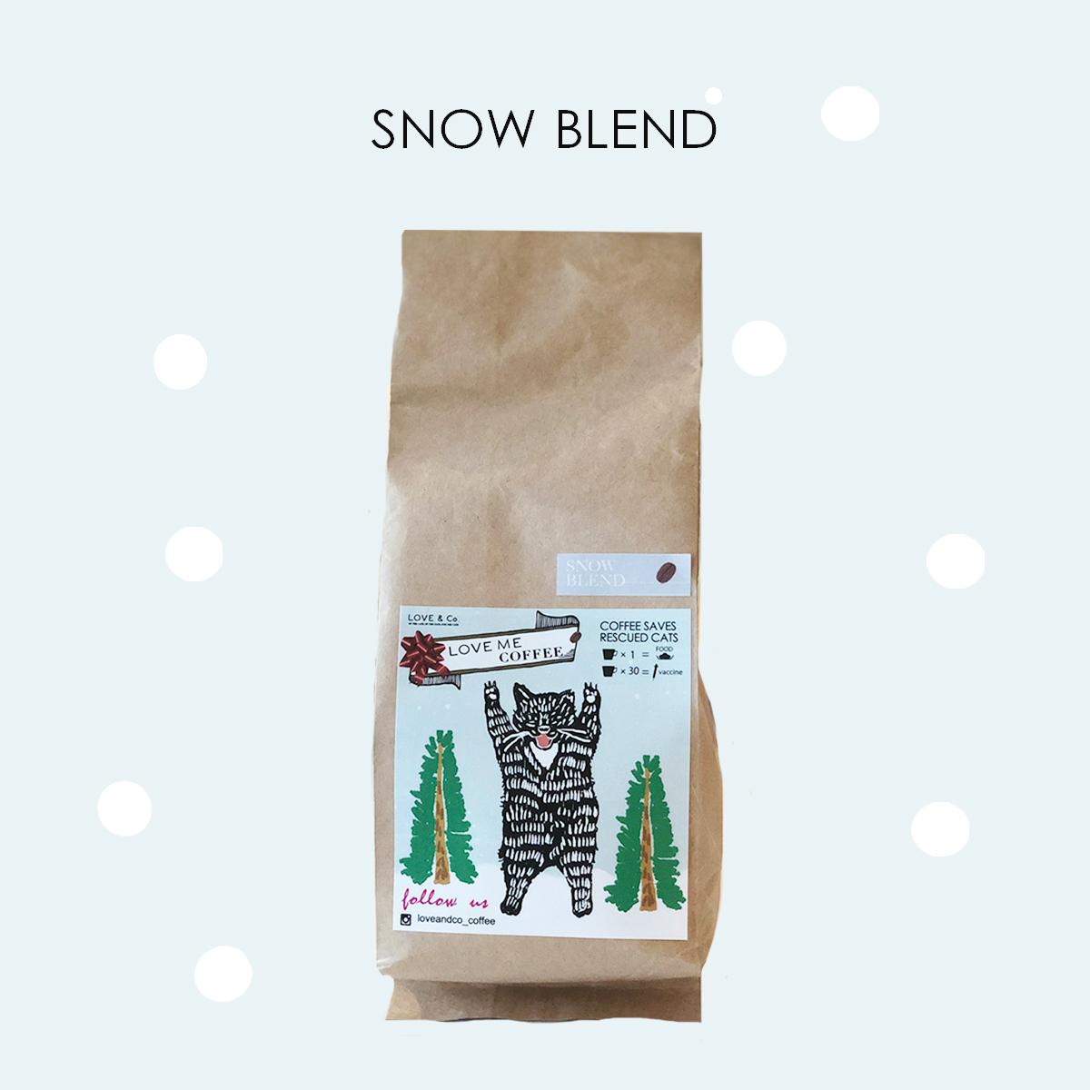 コーヒー豆 スノーブレンド 【冬季限定】画像