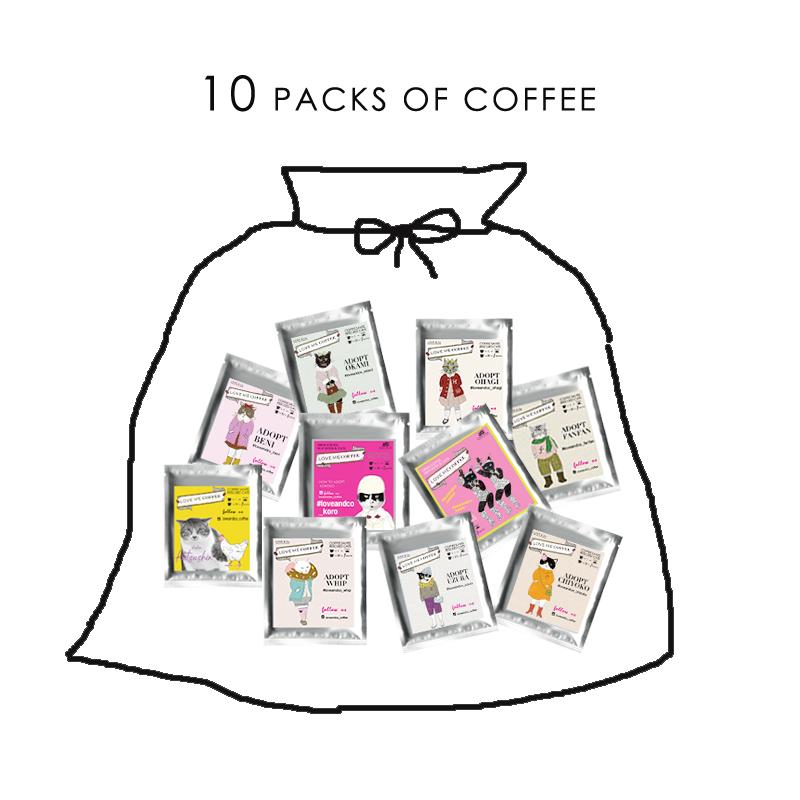 PROMOTION LOVE ME BAG 10袋画像