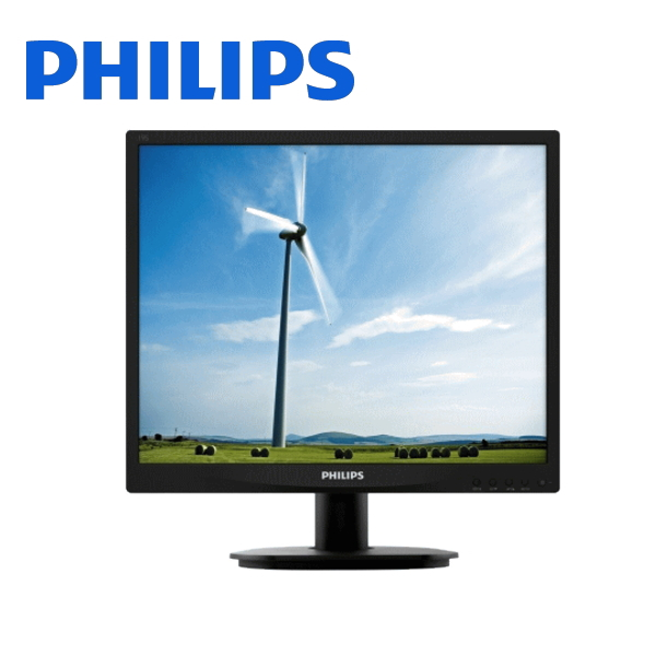 PHILIPS 19S4QAB-11 19型IPS液晶ディスプレイ ブラック スピーカー内蔵 5年保証付画像