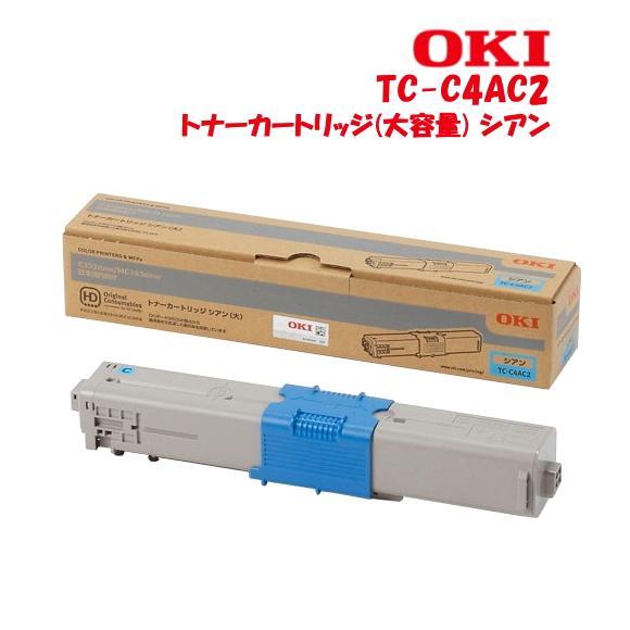 沖データ トナーカートリッジ(大) TC-C4A_2シリーズ(K・C・M・Y4色)MC363dnw・C332dnw対応の画像
