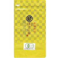 有機栽培 浅炒り ほうじ茶 50g入の画像