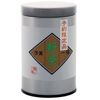 予約限定新茶 里山 缶入 100g入の画像