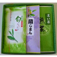 蔵じまん+旬ふたたび+濃い茶 3本入の画像
