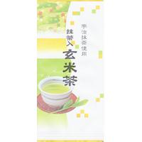 抹茶入玄米茶 100g入の画像