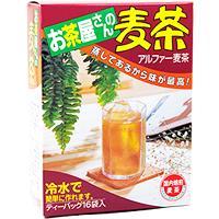 お茶屋さんの麦茶 10g×16個入画像