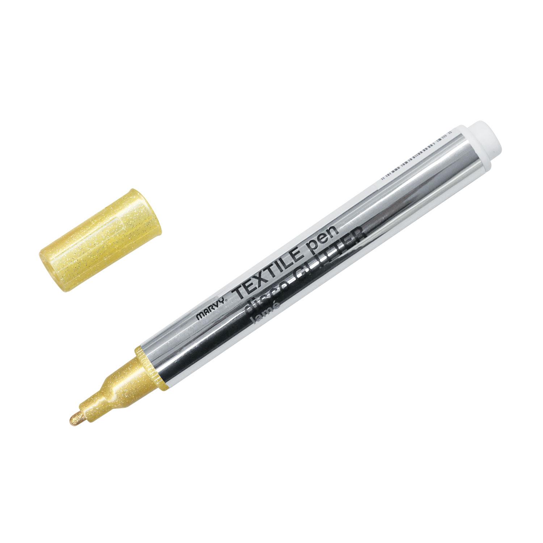 テキスタイルペン ディスコグリッター ラメ 単品 ゴールド(0D13)画像