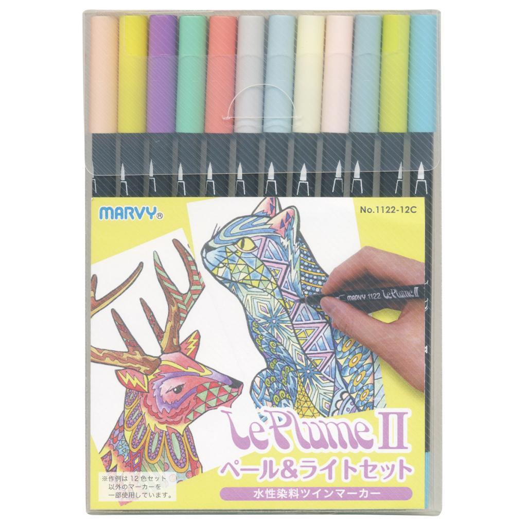 ルプルームII 12色ペール&ライトセットの画像