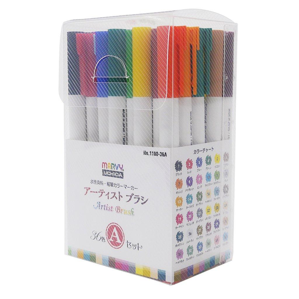 アーティストブラシ 36色 Aセットの画像
