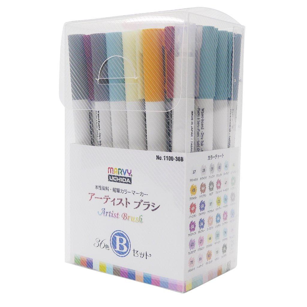アーティストブラシ 36色 Bセットの画像