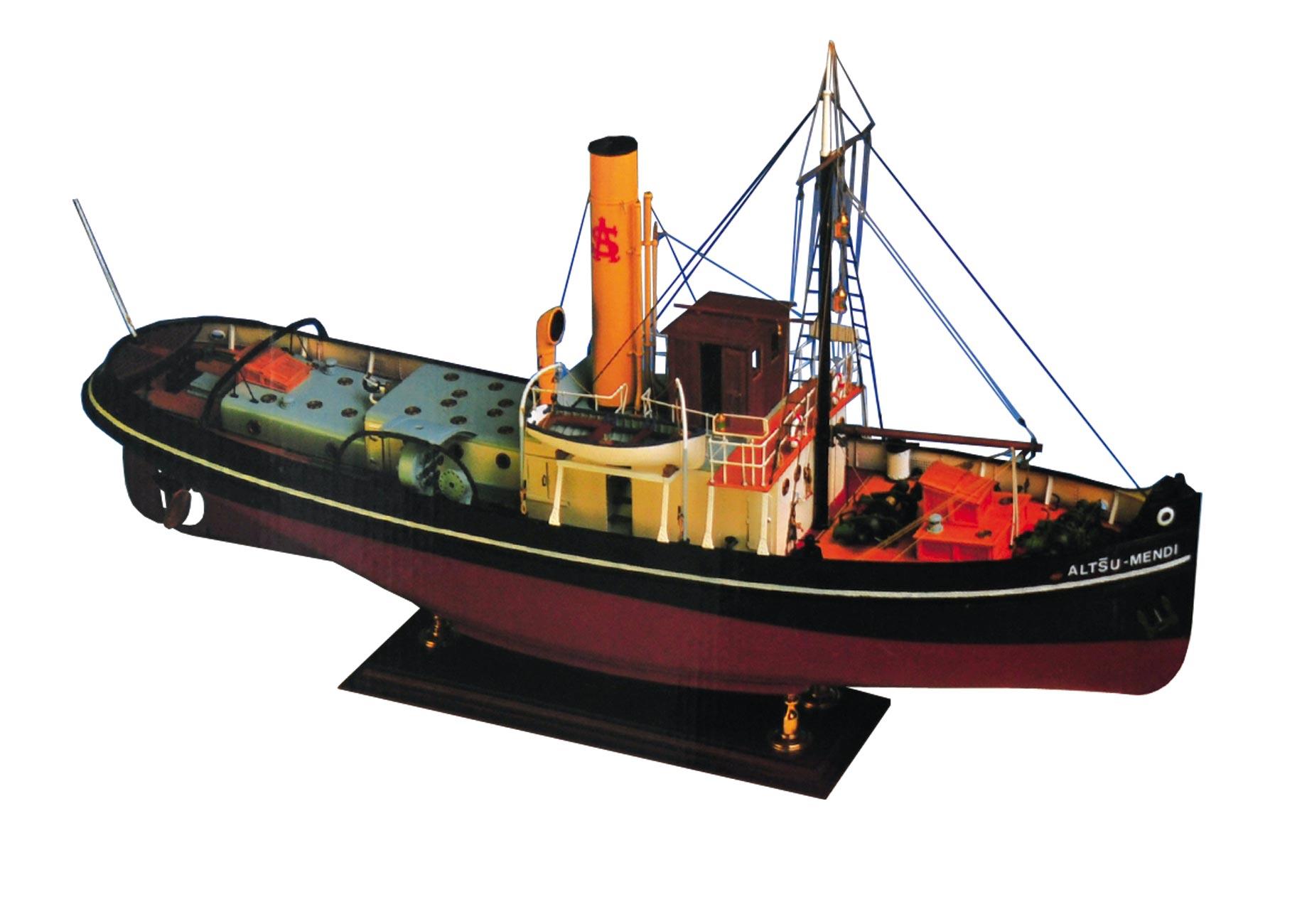 アルタス メンディ スチームタグボート画像