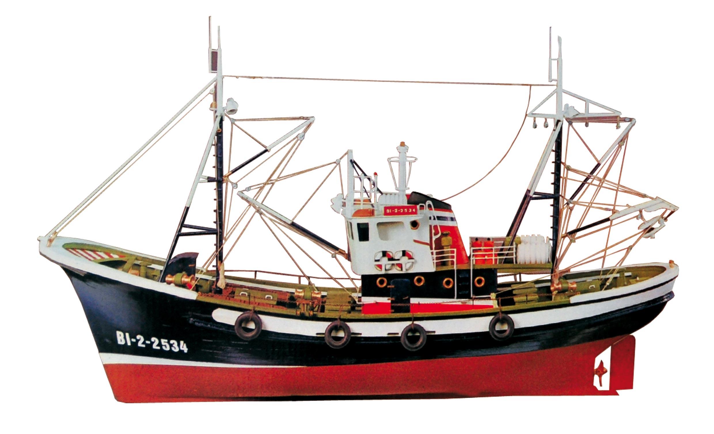 カンタブリアのマグロ漁船画像