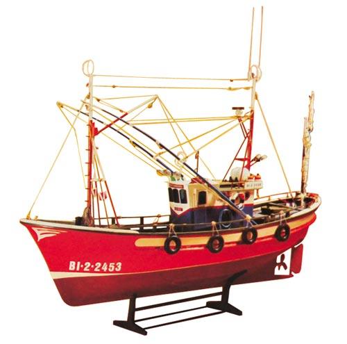 カンタブリアのヘイク漁船画像