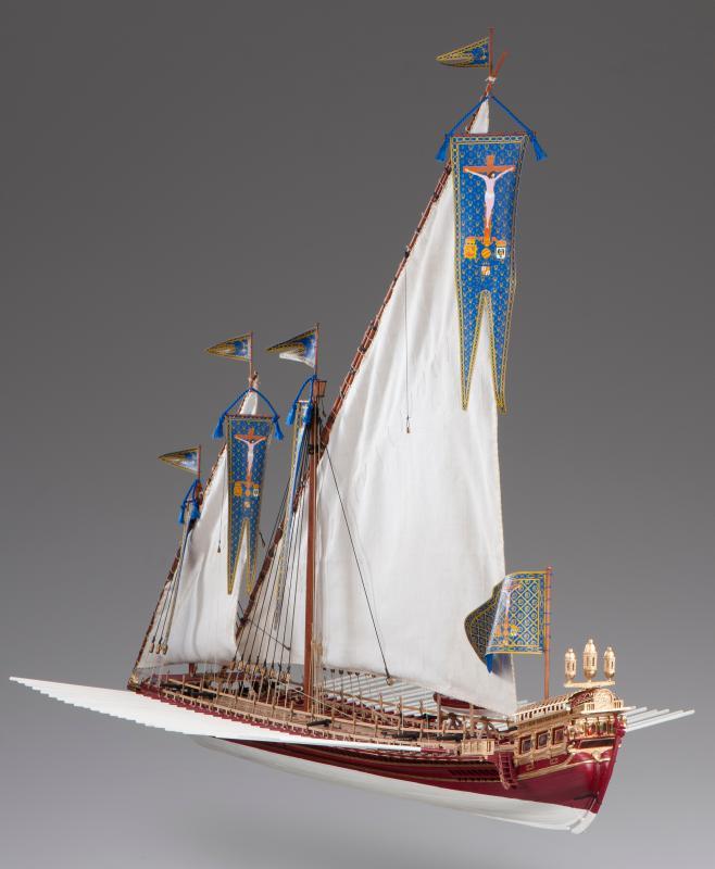木製帆船模型キット ラ レアル