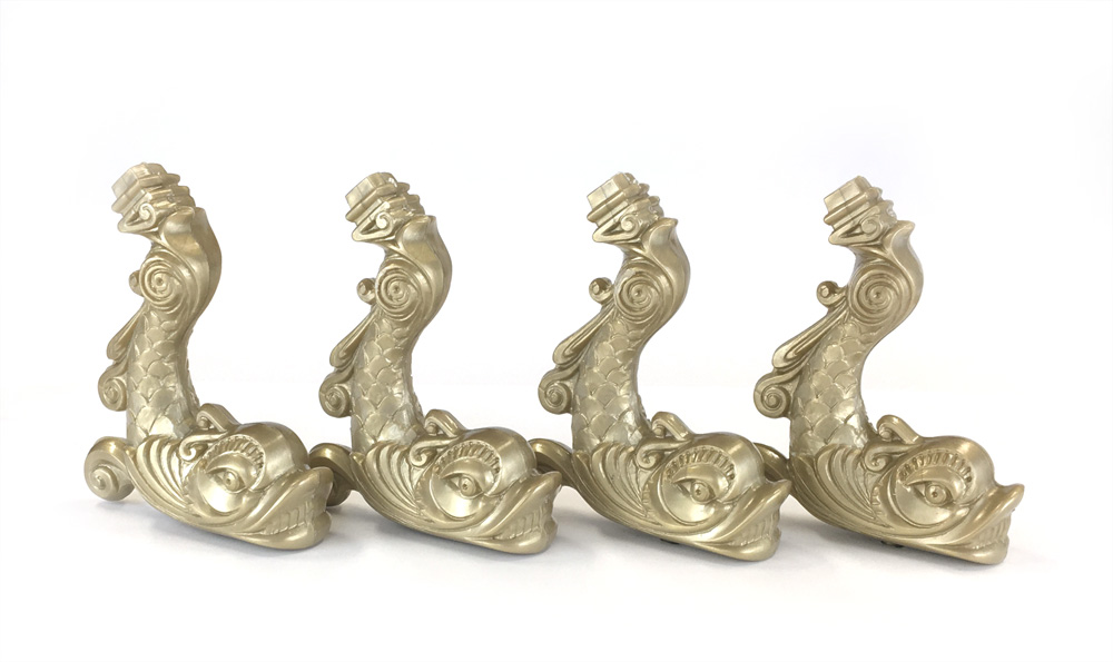 飾り支柱:ドルフィン(材質プラ)/1セット(4)の画像