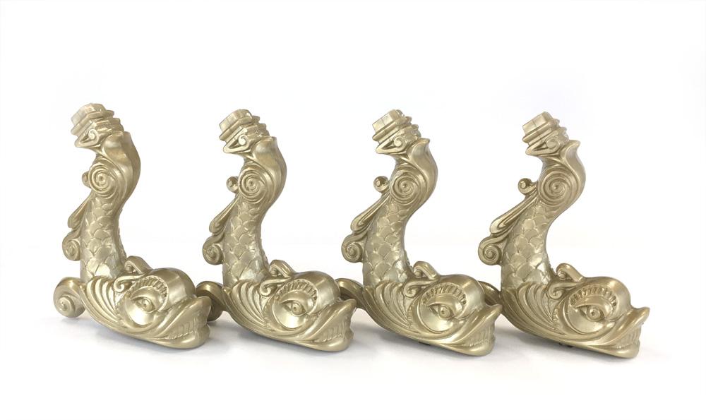 飾り支柱:ドルフィン(材質プラ)/1セット(4)画像
