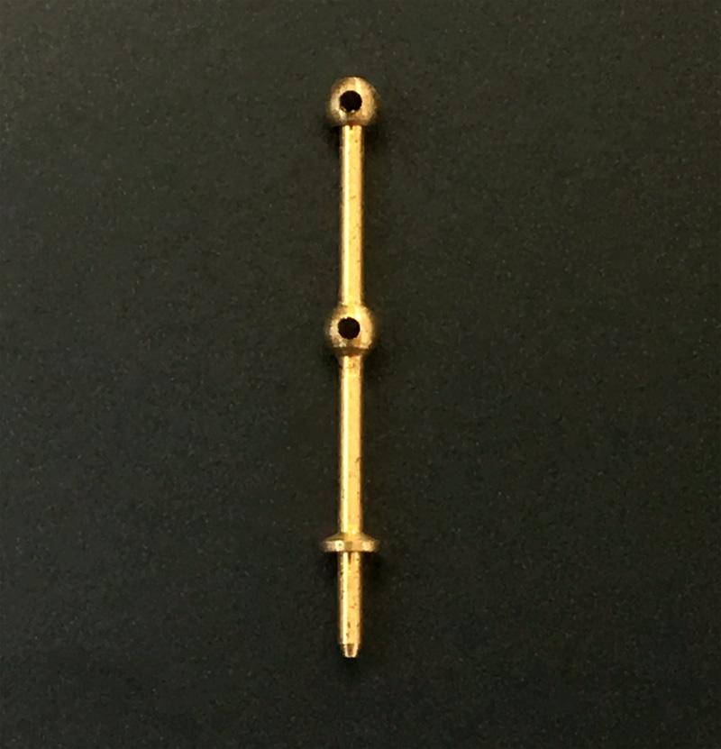 コーレル支柱(真鍮)2穴(1セット10)画像