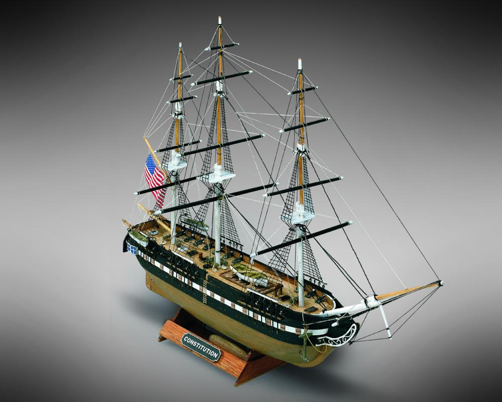 ミニマモリ USS コンスティテューション画像