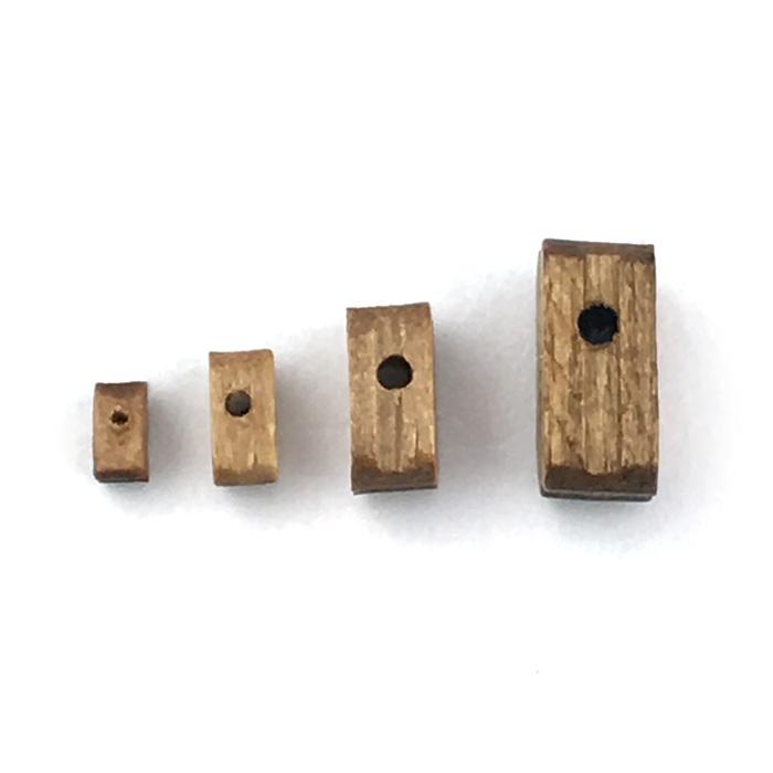 シングルブロック(ウオールナット)(10コ)画像