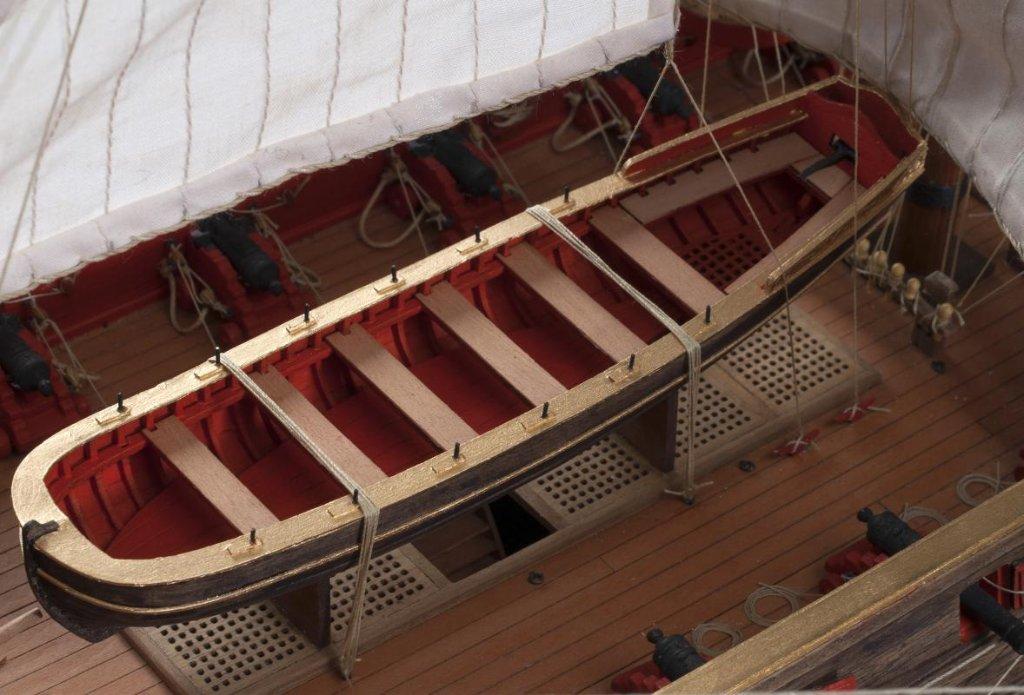 ライフボート 162㎜ 1/72の画像