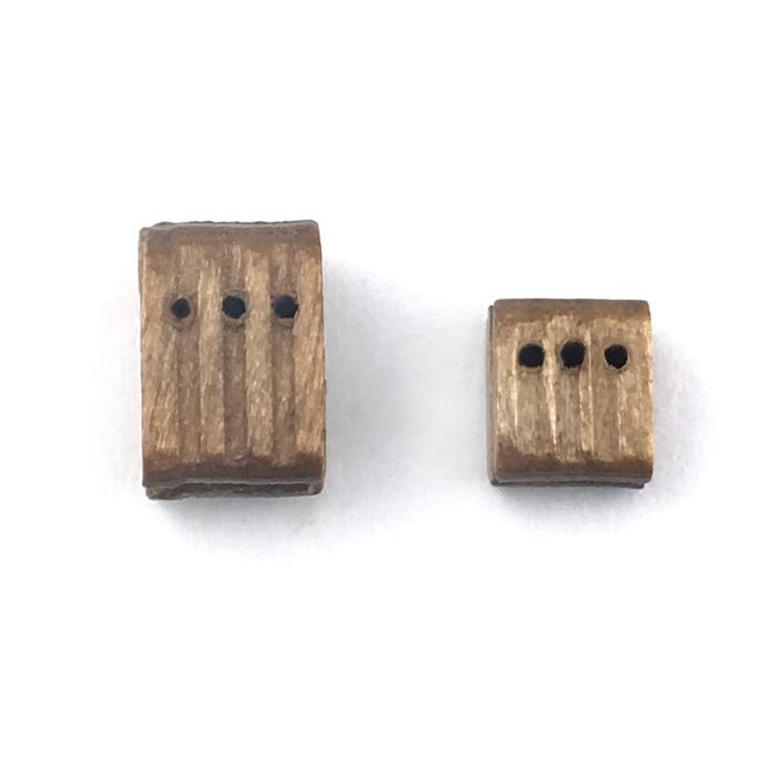 トリプルブロック(ウオールナット)(10コ)の画像