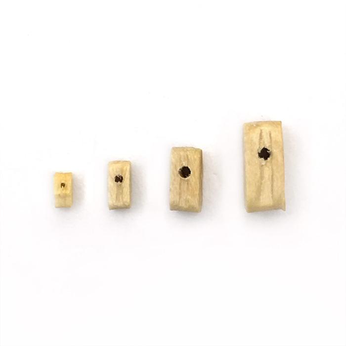 シングルブロック(柘植)(10コ)の画像