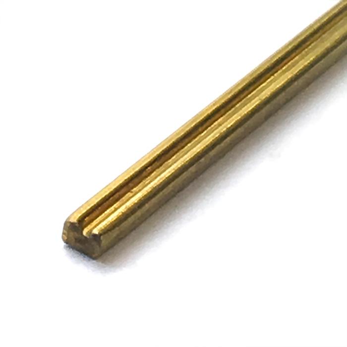 真鍮帯板(装飾用)1m タイプ1の画像