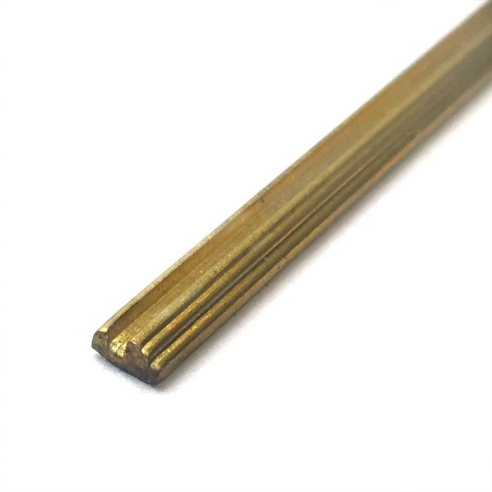 真鍮帯板(装飾用)1m タイプ3の画像