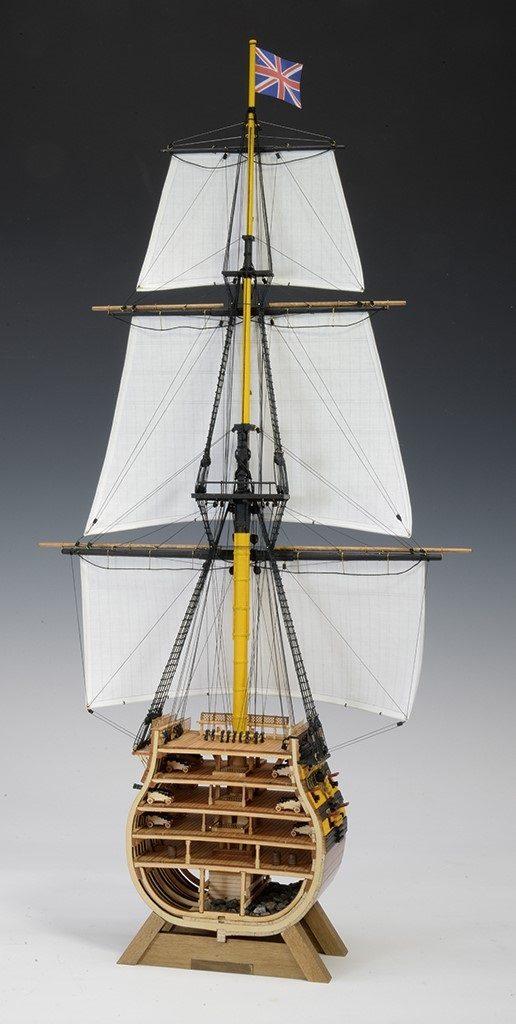 1/160 ビクトリー カットモデル(帆付き)の画像