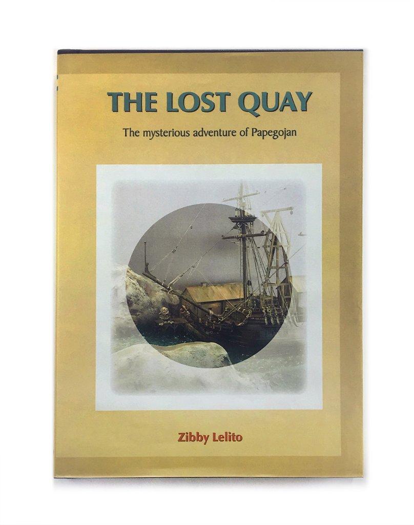 洋書「THE LOST QUAY」の画像
