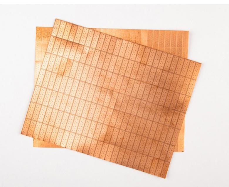 船底用銅板5セット組 (1/64)6×19mm スケール1/64の画像
