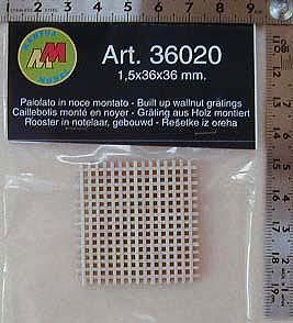 グレーティング1.5mm/36×36mm画像