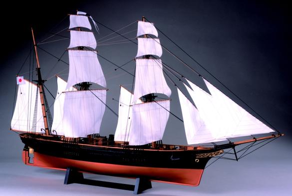 咸臨丸(帆付)の画像