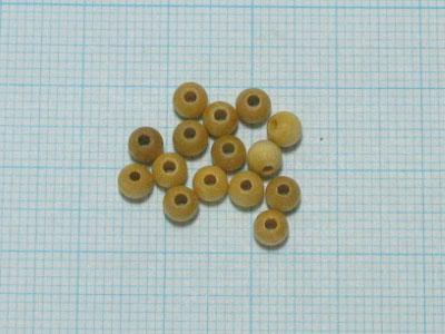 木製パレルボール(10コ)チョッケイ4mm画像
